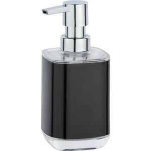 Černý dávkovač na mýdlo Wenko Masone