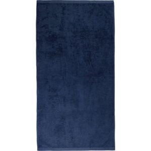 Tmavě modrý ručník Artex Alpha, 70 x 140 cm