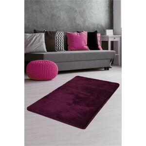 Tmavě fialový koberec Milano, 140x80cm