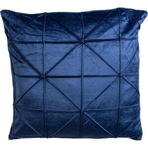 Tmavě modrý dekorativní polštář JAHU collections Amy,45x45cm