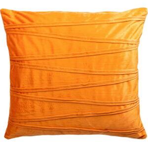 Oranžový dekorativní polštář JAHU collections Ella,45x45cm