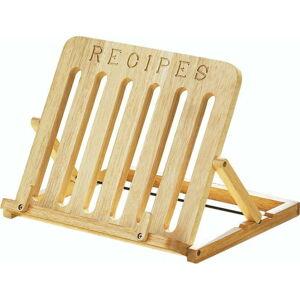 Stojánek na kuchařku z gumovníkového dřeva Premier Housewares Cookbook Stand