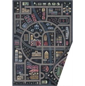 Černý oboustranný dětský koberec Narma Ulejoe, 160 x 230 cm