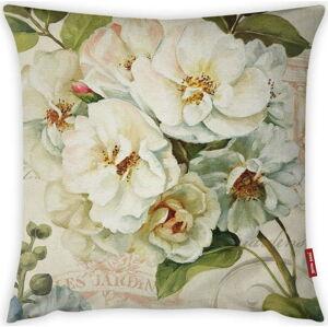 Povlak na polštář Vitaus Pure Flower, 43 x 43 cm