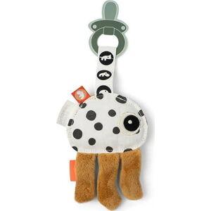Mazlicí hračka s poutkem na dudlík Done by Deer Cozy Keeper Jelly