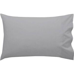 Šedý bavlněný povlak na polštář Happy Friday Basic, 40 x 60 cm