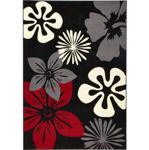 Koberec Hanse Home Gloria Flower Night, 80 x 150 cm