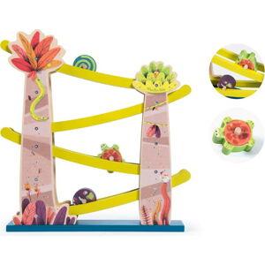 Dětská dřevěná kaskáda se zvířátky Moulin Roty