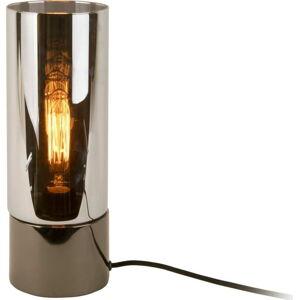 Stolní lampa v metalicky šedé barvě se zrcadlovým leskem Leitmotiv Lax