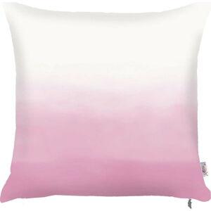 Růžovobílý povlak na polštář Apolena Easter Shade, 43x43cm