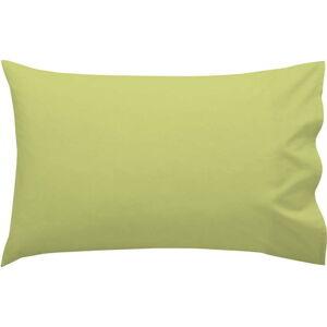 Zelený bavlněný povlak na polštář Happy Friday Basic, 50 x 30 cm