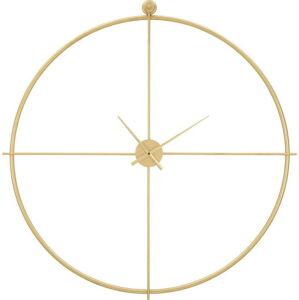 Nástěnné hodiny ve zlaté barvě Mauro Ferretti Devoria, ⌀ 100 cm