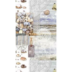 Plážová osuška s potiskem Good Morning Abel, 100 x 180 cm