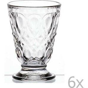 Sada 6 čirých sklenic Lyonnais, 200 ml