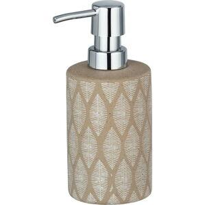 Béžový keramický dávkovač mýdla Wenko Tupian