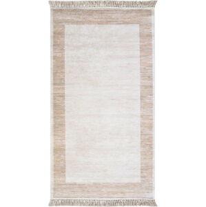 Hnědobéžový koberec Vitaus Hali Ruto, 50x80cm