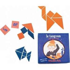 Tangram geometrických tvarů Moulin Roty