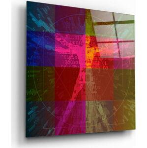Skleněný obraz Insigne Da Vinci's Lines,60 x60cm