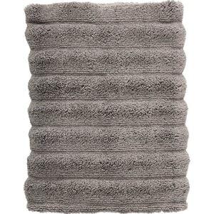 Tmavě šedý bavlněný ručník Zone Inu,70x50 cm
