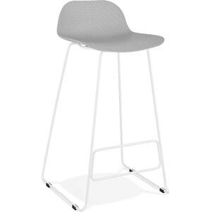 Šedá barová židle Kokoon Slade, výškasedu76cm