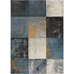 Tmavě šedý koberec Universal Adra Azulo, 160 x 230 cm