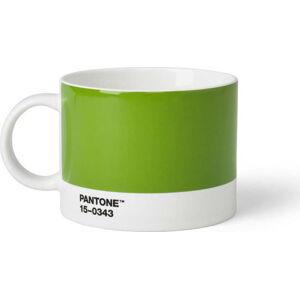 Zelený hrnek na čaj Pantone, 475 ml