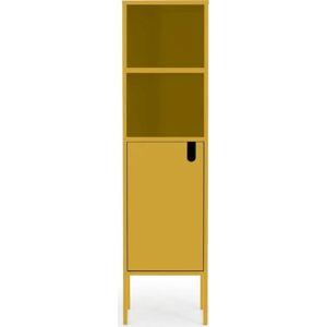Žlutá skříň Tenzo Uno, výška 152cm
