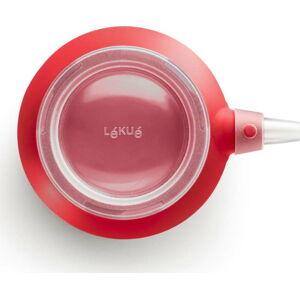 Červené zdobítko na cupcakes se 6 nástavci Lékué Decomax