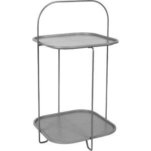 Šedý odkládací stolek Leitmotiv Trays