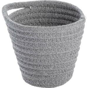 Šedý závěsný úložný košík Wenko