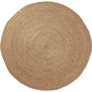 Přírodní jutový koberec Dip, ⌀ 100 cm