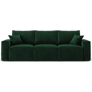 Zelená třímístná pohovka Cosmopolitan Design Florida