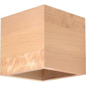 Dřevěné nástěnné svítidlo Nice Lamps Geo