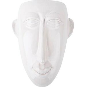 Šedý nástěnný květináč PT LIVING Mask, 17,5x22,4cm