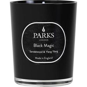 Svíčka s vůní santalového dřeva a Ylang Ylang Parks Candles London Black Magic, doba hoření 45 h