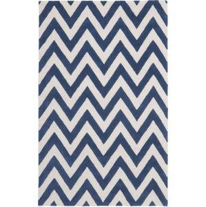 Modrý koberec Safavieh Stella, 152 x 91 cm