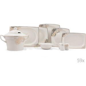 59dílná sada porcelánového nádobí Kutahya Oldies