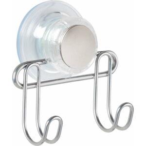 Dvojitý háček s přísavkou InterDesign Turn-N-Lock
