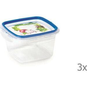 Sada 3 krabiček na potraviny Snips,1l