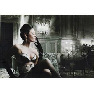 Skleněný obraz Kare Design Dessous Lady, 120x80cm