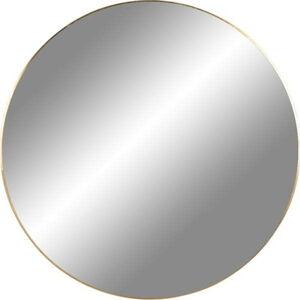 Nástěnné zrcadlo s rámem ve zlaté barvě House Nordic Jersey, ø 40 cm