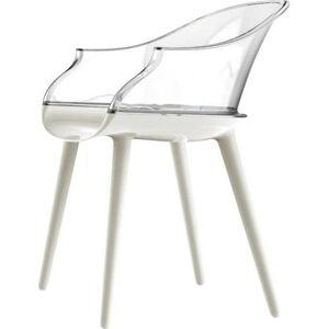 Bílá jídelní židle Magis Cyborg