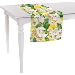 Běhoun na stůl Mike & Co. NEW YORK Spring Flowers,140x40cm