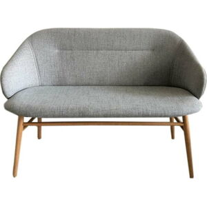 Šedá pohovka Unique Furniture Teno,šířka121cm