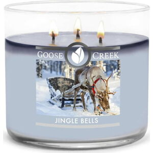 Vonná svíčka ve skleněné dóze Goose Creek Jingle Bells, 35 hodin hoření
