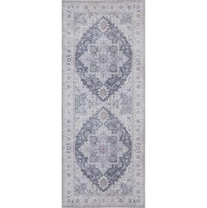 Šedo-růžový koberec Nouristan Anthea, 80 x 200 cm
