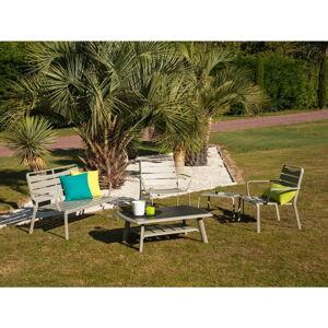 Set zahradního stolku, křesel, lavice a podnožky Ezeis Spring Lounge