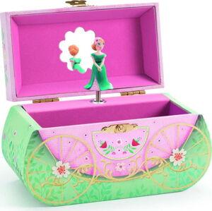 Dřevěná hrací skříňka Djeco Carriage