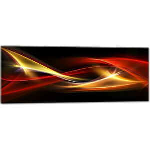 Obraz Styler Glasspik Abstraction Duro, 50 x 125 cm