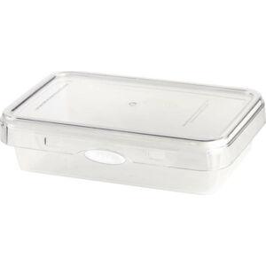 Bílá dóza na potraviny Vialli Design, 800 ml